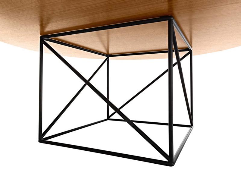 Tavolo lc15 table de conf rence di cassina tavoli cattelan arredamenti - Tavolo cristallo le corbusier ...