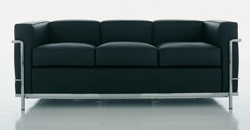poltrone e divano Le Corbusier LC2 di Cassina | Cattelan ...