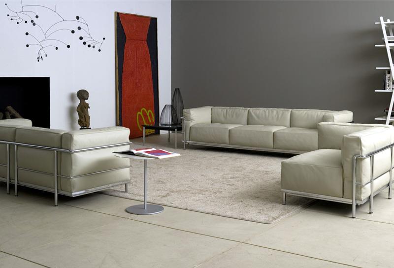 Poltrona e divano le corbusier lc3 di cassina cattelan for Mobili cassina outlet