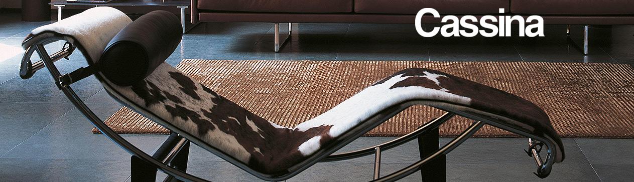 LC4 chaise longue Le Corbusier Cassina