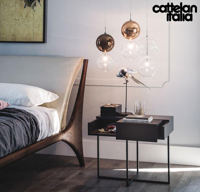 Nelson bed by cattelan italia cattelan arredamenti for Cattelan arredamenti
