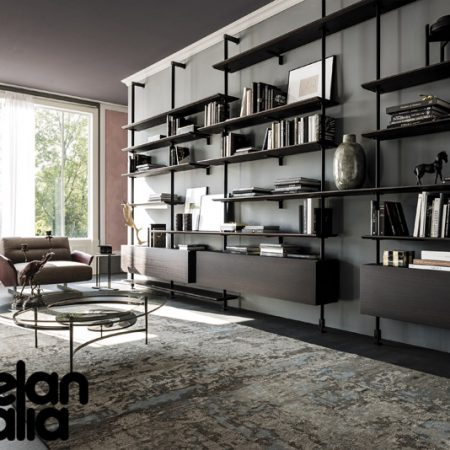 libreria-airport-cattelan-italia-montanti-bookcase-noce-canaletto-walnut-rovere-bruciato-burned-oak-original-moderno-offerta-sale-outlet (4)