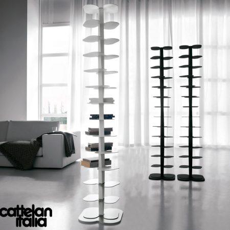 libreria-dna-cattelan-italia-arredamenti-bookcase-bianco-nero-white-black- original- moderno-offerta-sale-outlet (2)
