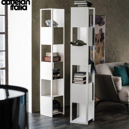 libreria-joker-cattelan-italia-arredamenti-bookcase-bianco-nero-white-black- original- moderno-offerta-sale-outlet (4)