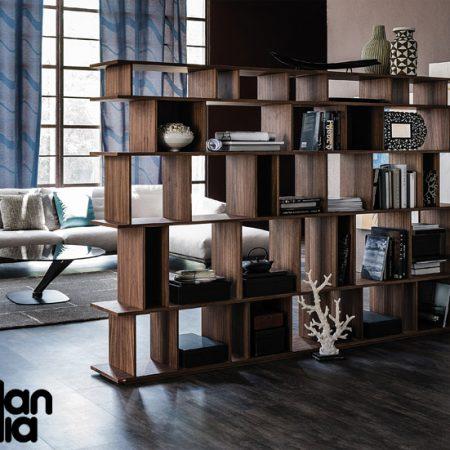 libreria-loft-cattelan-italia-arredamenti-bookcase-bianco-white-noce-canaletto-walnut-original- moderno-offerta-sale-outlet (2)