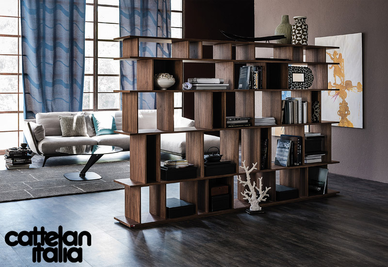 bookcase loft by cattelan italia cattelan arredamenti