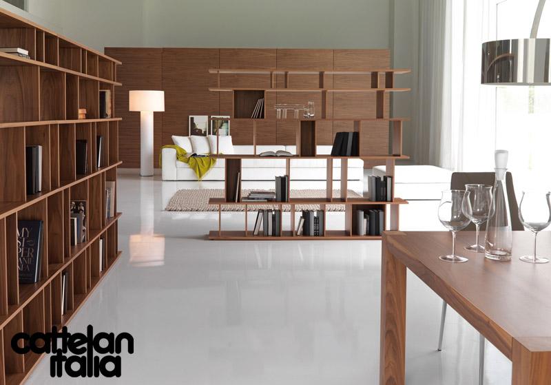 Libreria loft di cattelan italia cattelan arredamenti for Il loft arredamenti