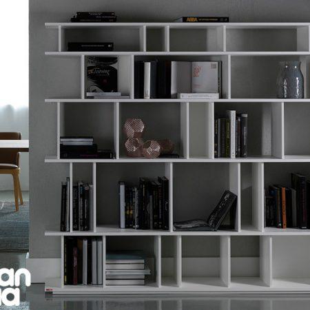 libreria-loft-cattelan-italia-arredamenti-bookcase-bianco-white-noce-canaletto-walnut-original- moderno-offerta-sale-outlet (4)