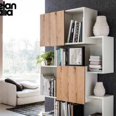 libreria-piquant-cattelan-italia-bookcase-bianco-graphite-white-noce-canaletto-walnut-rovere-oak-original- moderno-offerta-sale-outlet (7)
