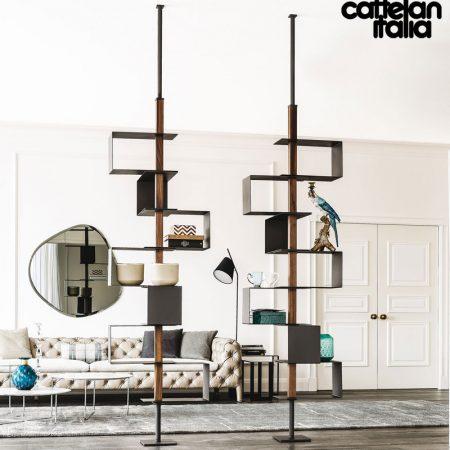 libreria-tokyo-cattelan-italia-montanti-bookcase-noce-canaletto-walnut-rovere-bruciato-burned-oak-graphite-offerta-sale-outlet (3)