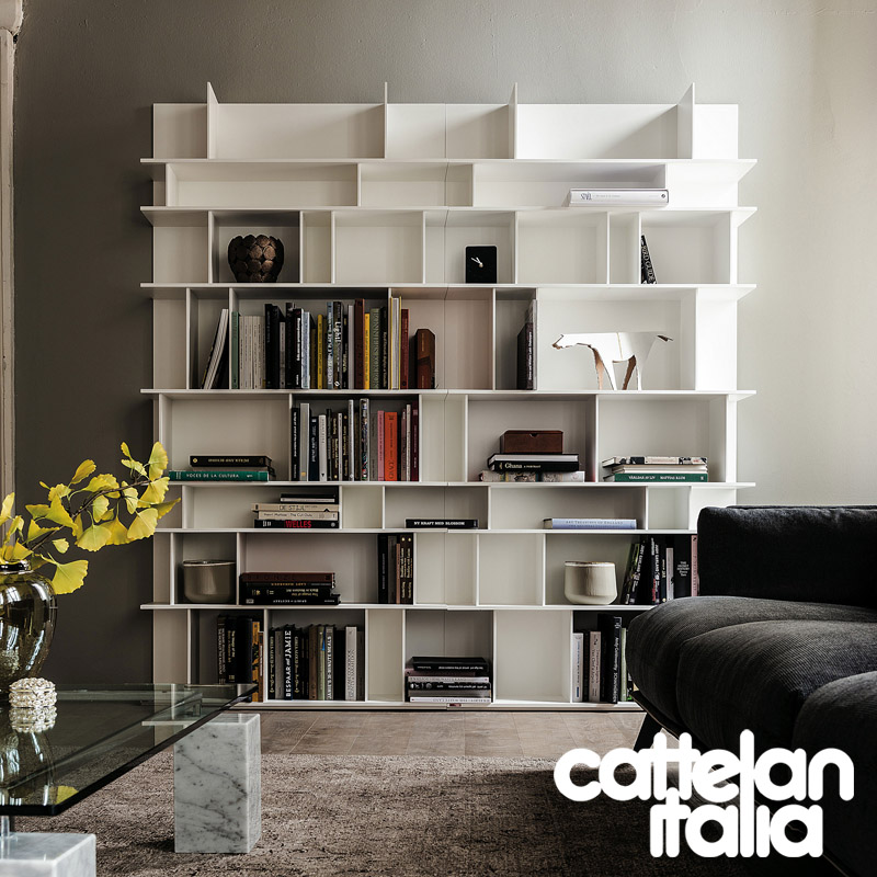 bookcase Wally by Cattelan Italia | Cattelan Arredamenti