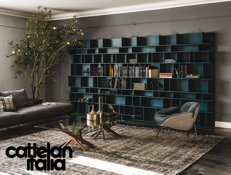 Libreria wally di cattelan italia cattelan arredamenti for Cattelan arredamenti