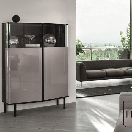 madia-pliè-sideboard-fiam-italia-cristallo-glass-design-studio-klass-miglior-prezzo-promozione-best-price-grigio-polvere-marrone-grey-powder-outlet (1)