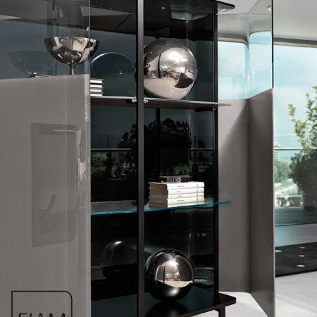 madia-pliè-sideboard-fiam-italia-cristallo-glass-design-studio-klass-miglior-prezzo-promozione-best-price-grigio-polvere-marrone-grey-powder-outlet (2)