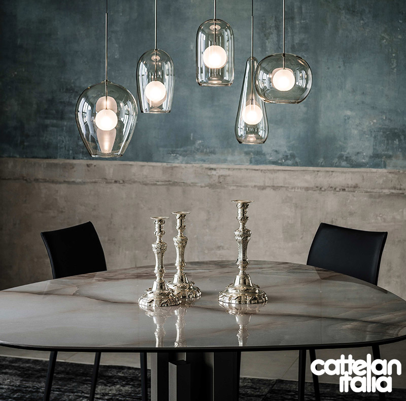 Lampada sospensione melody di cattelan italia cattelan for Melody arredamenti