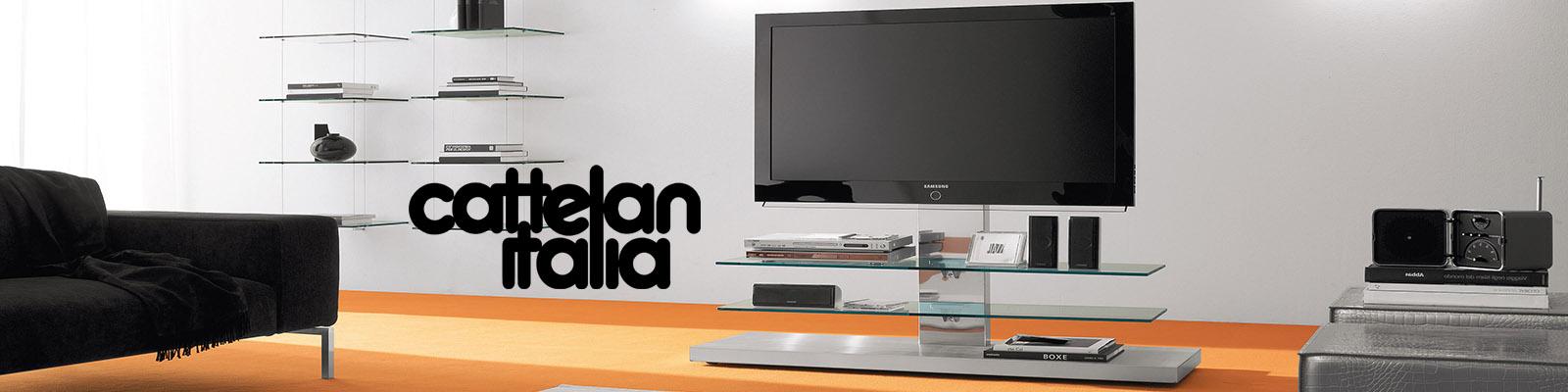 Porta tv panorama di cattelan italia cattelan arredamenti for Cattelan arredamenti