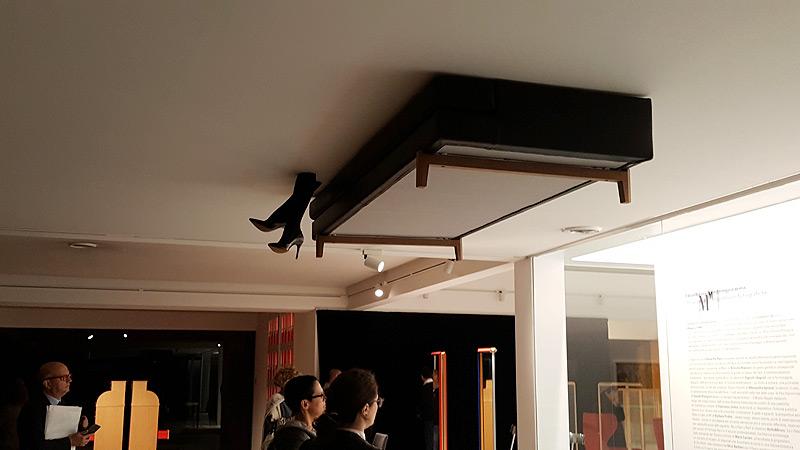 Quadreria Contemporanea nel Floating Cube del Museo Molteni