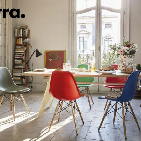 sedia Eames Plastic Side Chair DSR DSW DSX di Vitra | Cattelan ...