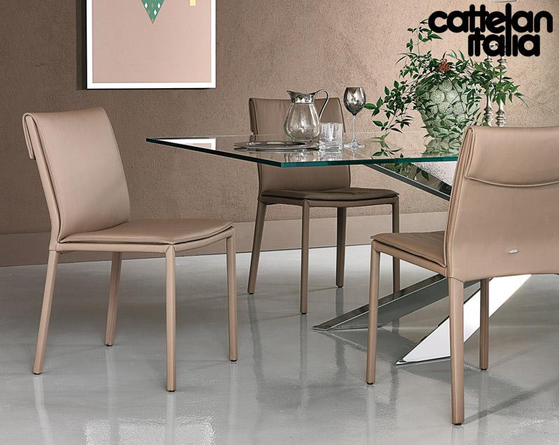 Sedia e poltroncina isabel di cattelan italia cattelan for Cattelan arredamenti