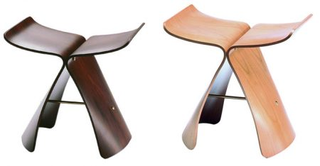 Butterfly stool by vitra cattelan arredamenti