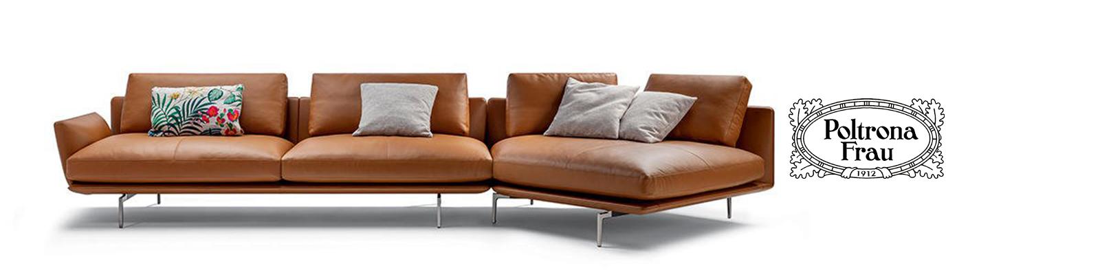 Divano Poltrona In Pelle.Sofa Get Back Divano Poltrona Frau Pelle Leather Design Original