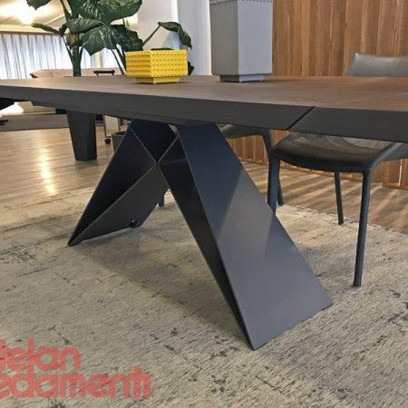 tavolo-premier-wood-drive-table-cattelan-italia-rovere-bruciato-burned-oak-graphite-bordi obliqui-outlet-offerta-sale-best-price-miglior-prezzo (4)