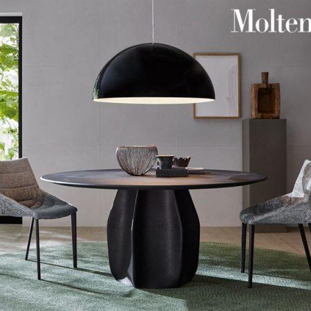 tavolo rotondo asterias round table molteni design patricia urquiola molteni&c legno cemento wood concrete 6