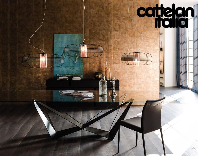 Tavolo skorpio di cattelan italia cattelan arredamenti for Cattelan arredamenti