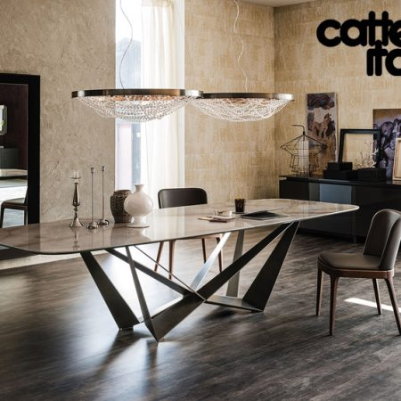 Tavolo skorpio keramik di cattelan italia cattelan for Cattelan arredamenti