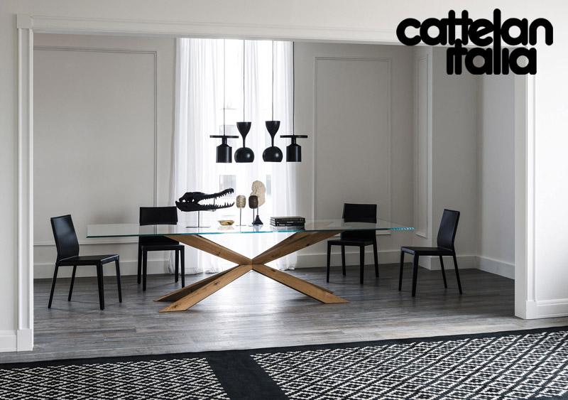 Tavolo spyder di cattelan italia cattelan arredamenti for Cattelan arredamenti