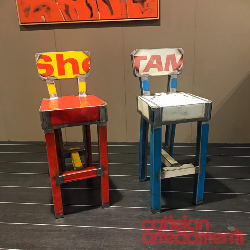 offerta sgabello Adorabile di Vibrazioni Art Design | Cattelan ...