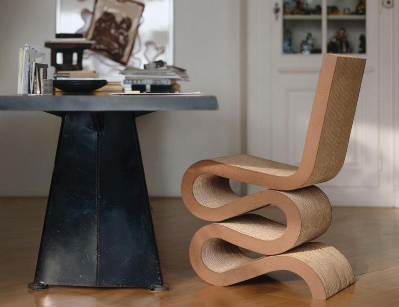 Sedia Cartone Allungabile.Sedia Wiggle Side Chair Di Vitra Cattelan Arredamenti