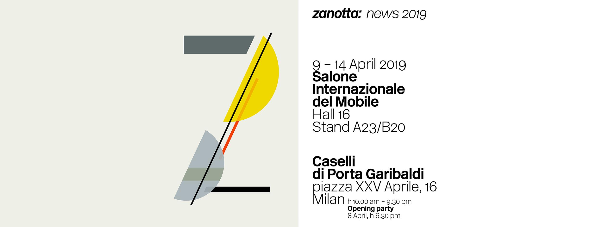 Zanotta @ Milano Design Week 2019